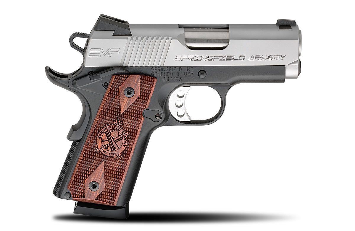 Review: The Springfield EMP | Eagle Gun Range Inc.