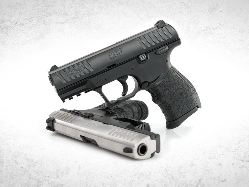 Walther CCP in silver and black