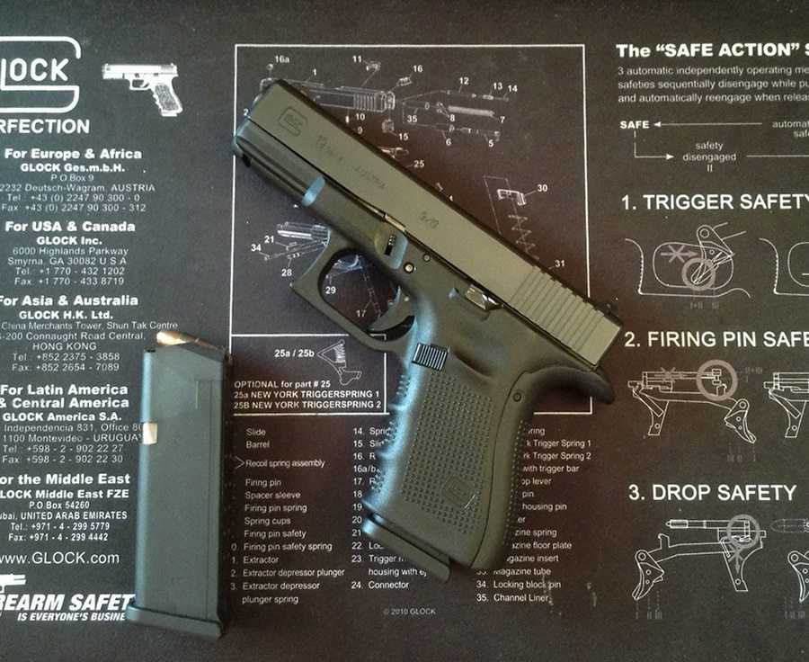 Glock 19, by Andy Rutledge