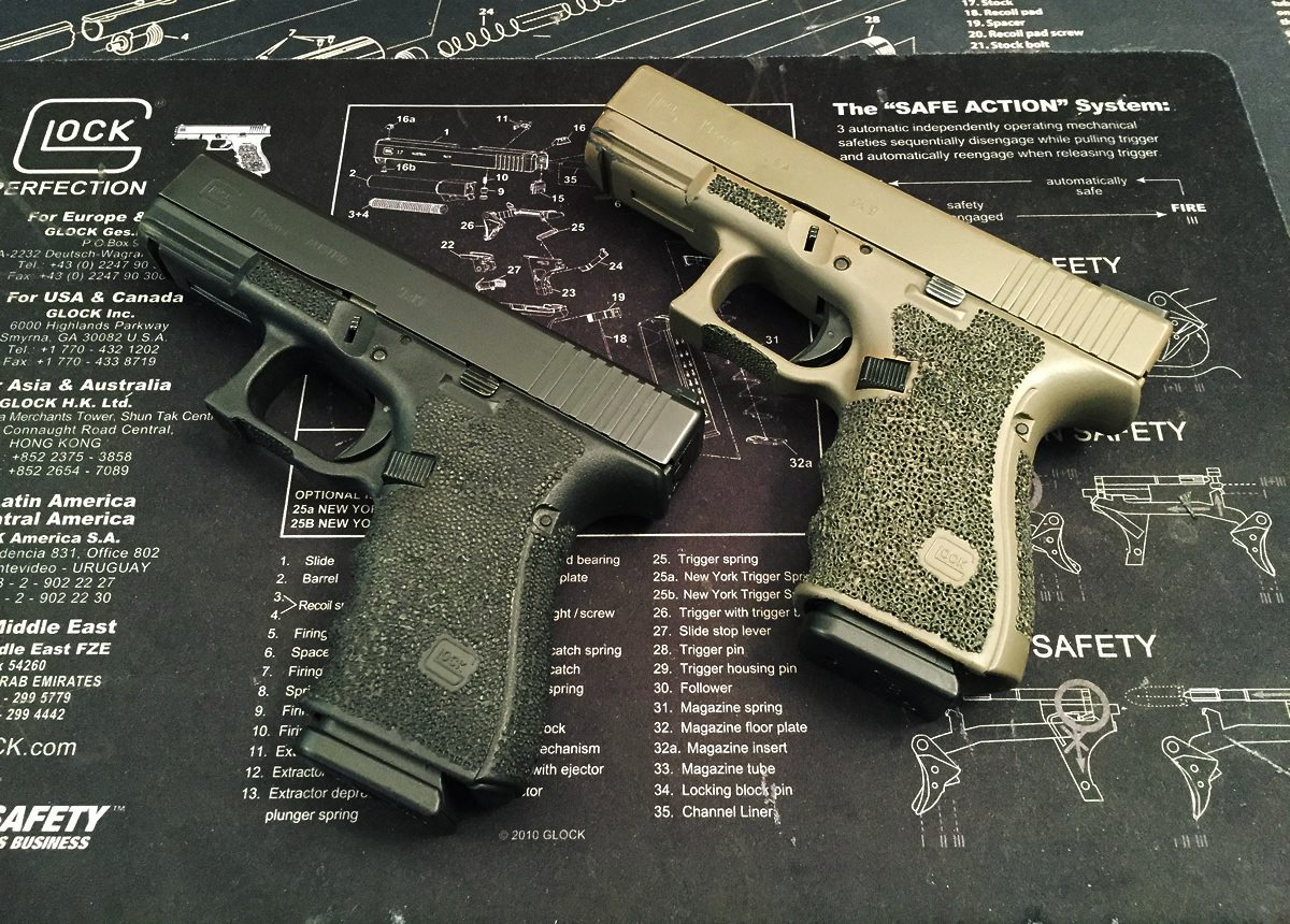 Glock 19s by Andy Rutledge