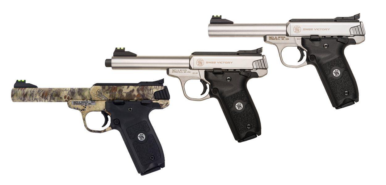 SW22 Victory Pistols