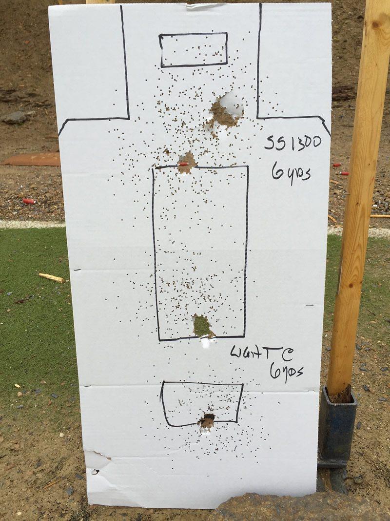 shot pattern