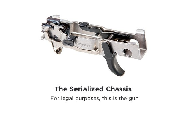 The Sig P320 chassis