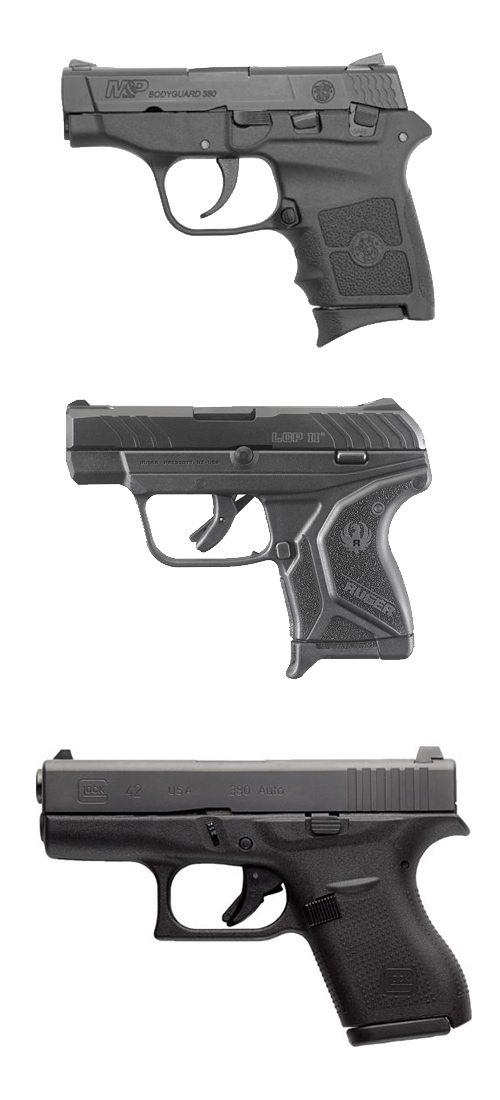 3 pocket pistols