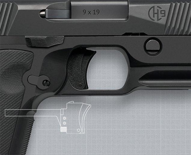 Hudson H9 trigger