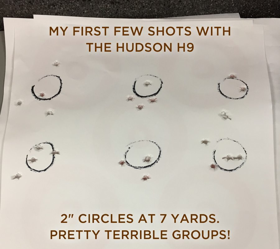 first shots on target