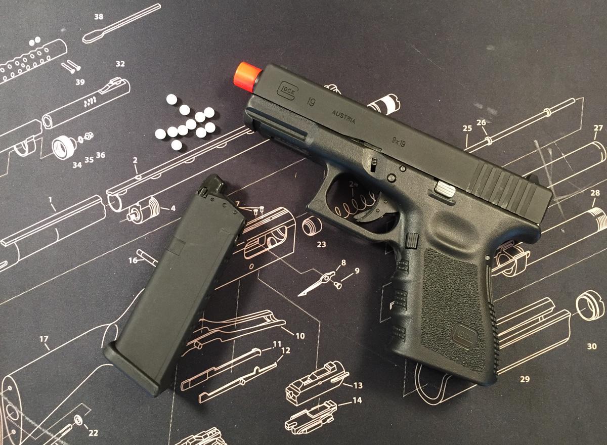 airsoft Glock 19