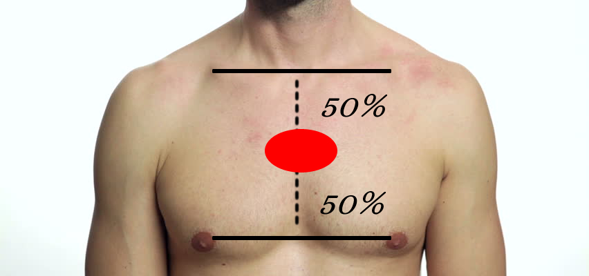 chest target area