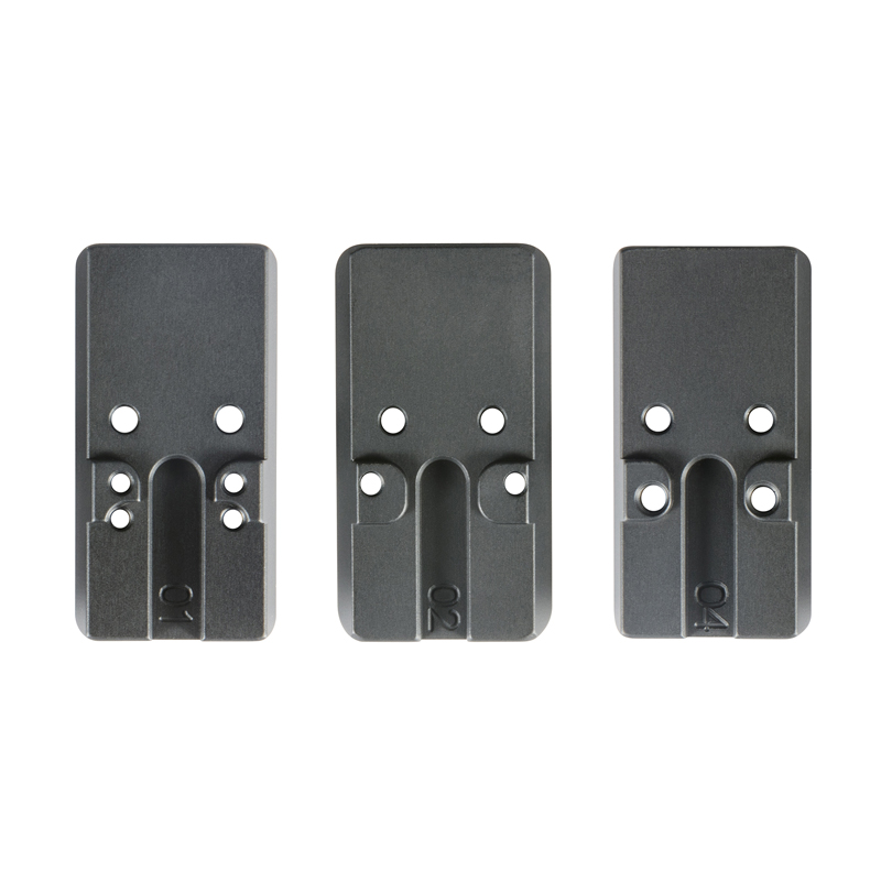 red-dot mounting plates